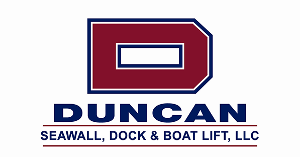 DUNCAN SEAWALL, DOCK & BOAT LIFT