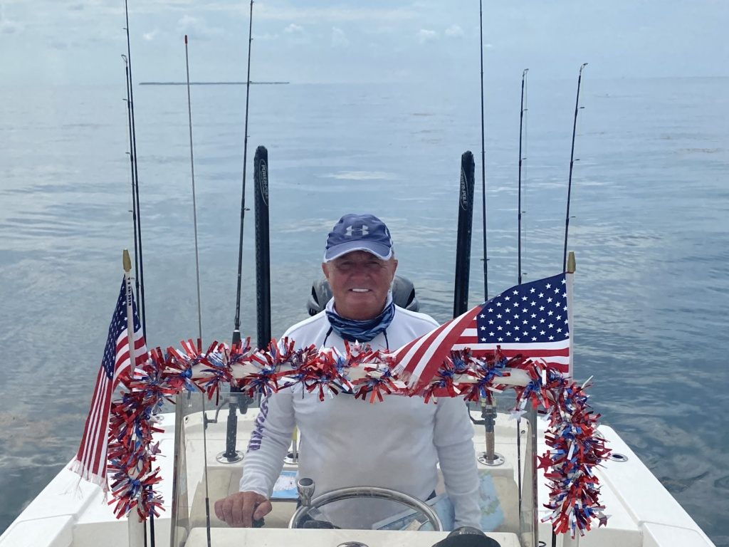 Captain Terry on 4th of July