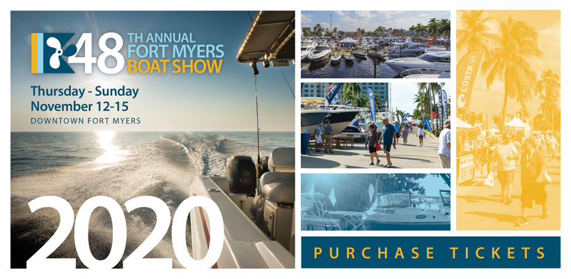 Get Your 2020 Fort Myers Boat Show Tickets