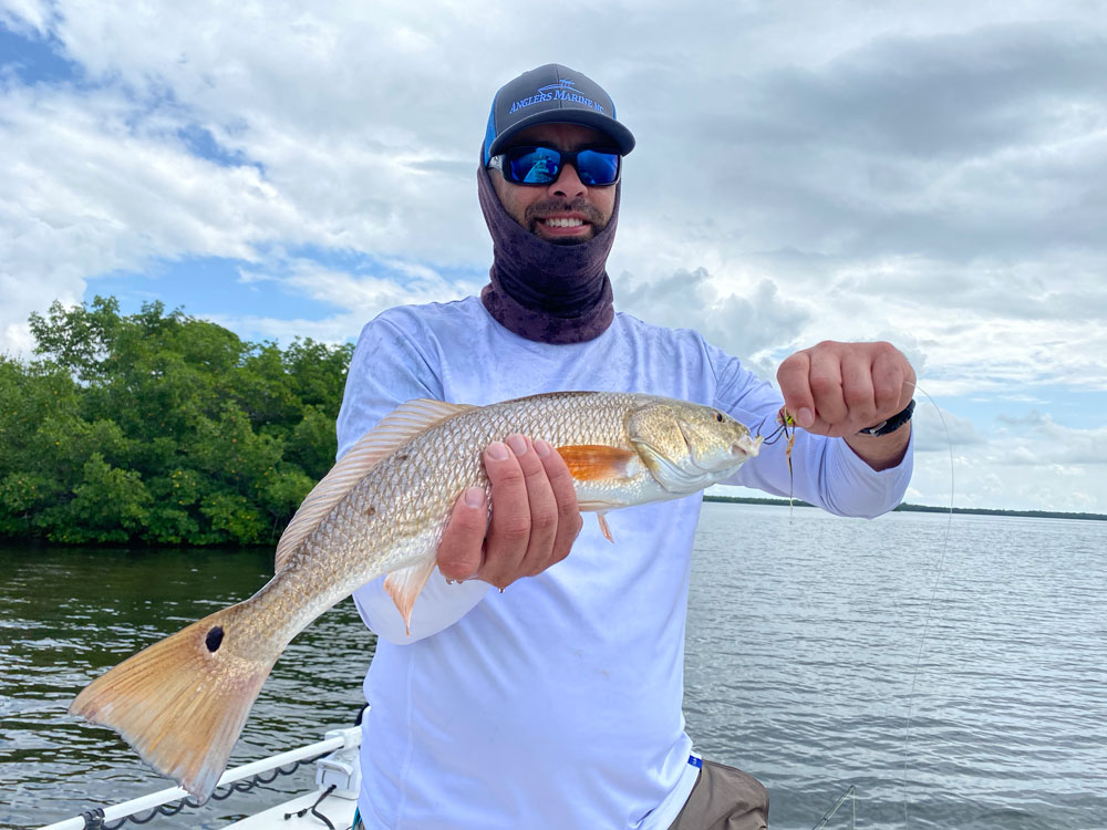 Redfish catch 3