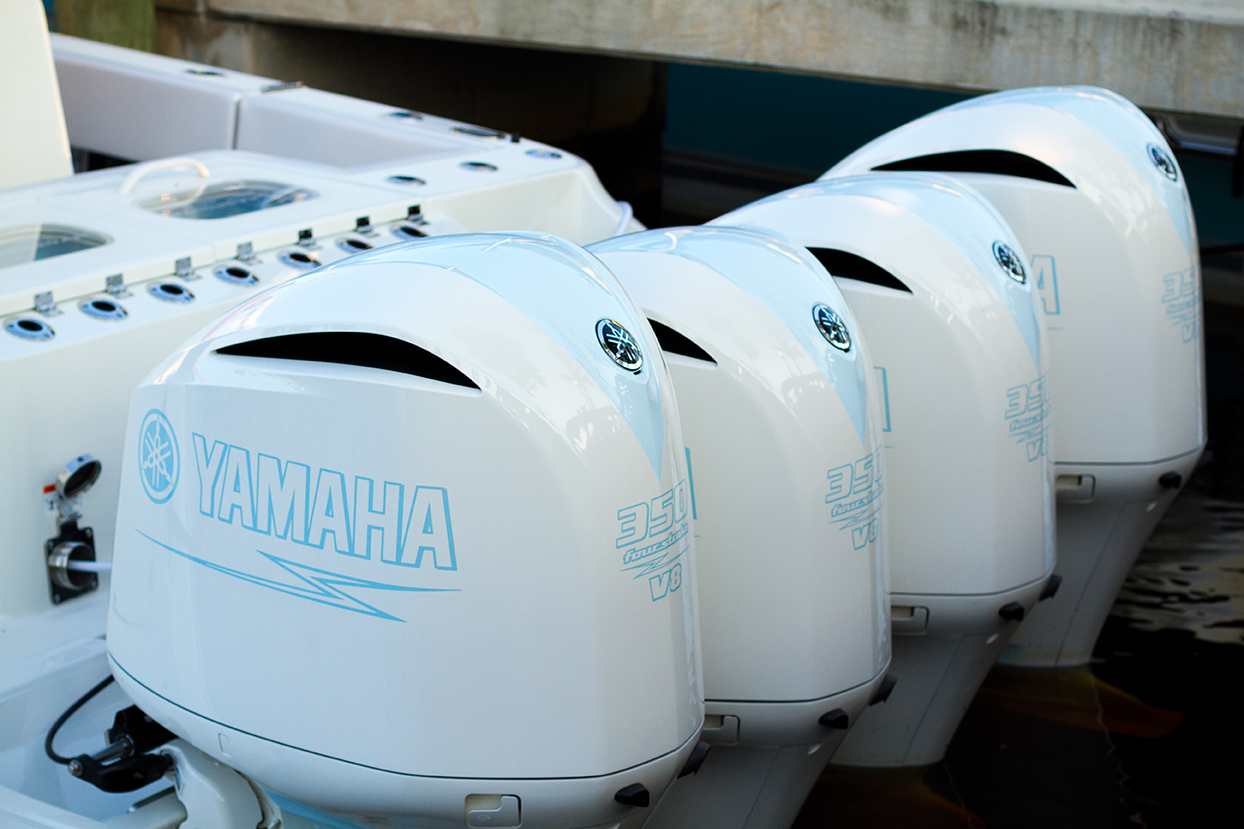 4 Yamaha Outboards