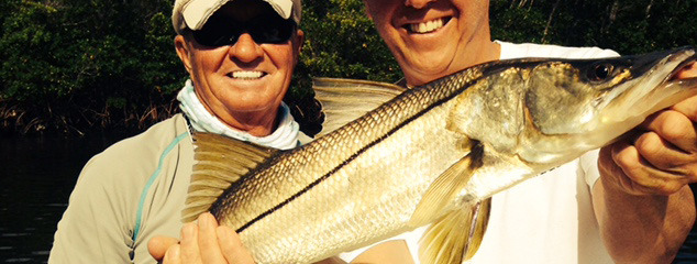 """Captain Terry says """"It is a 'full' moon and Tarpon are everywhere."""""""