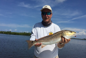 """"""" This month will continue to produce good Redfish numbers, so now is the time to get on the water and get your share."""" Says Captain Terry"""