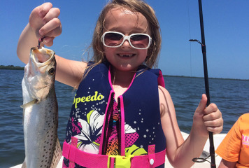 """""""I expect the big bull Redfish to come in from the gulf sooner than later this year."""" Says Captain Terry"""