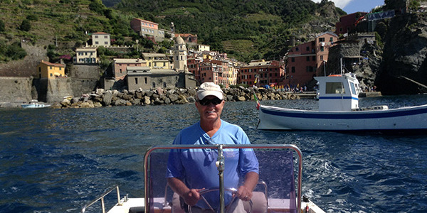 Captain Terry visits the coasts and central waters of Italy!