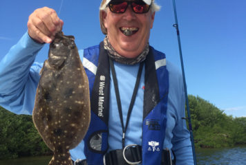 """Captain Terry says """"October finished strong for most inshore species"""""""