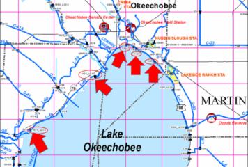 Lake Okeechobee Levels Below 12 Feet Will Require Lock Closures